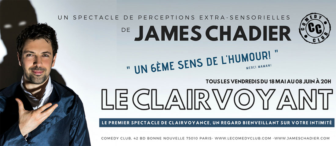 James Chadier - Comedy club